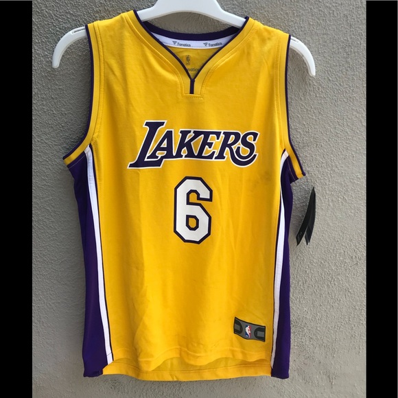 0fc0367fe7c Fanatics youth laker jersey.Boys laker jersey